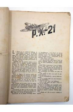 Muestra 2 de COLECCIÓN AVENTURAS - POLICIACA 81. P.X.-21 PX-21 (T.S. Stephan) Marisal 1942