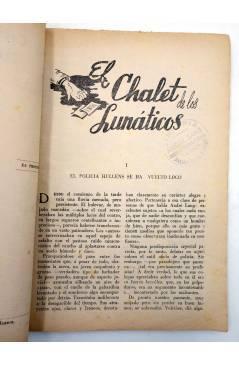 Muestra 2 de COLECCIÓN AVENTURAS - POLICIACA 87. EL CHALET DE LOS LUNÁTICOS (J.J. Marine) Marisal 1942