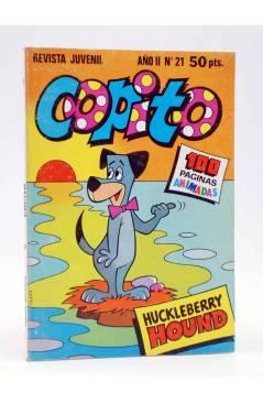 Cubierta de COPITO. REVISTA JUVENIL AÑO II Nº 21. HUCKLEBERRY HOUND (Vvaa) Bruguera 1981