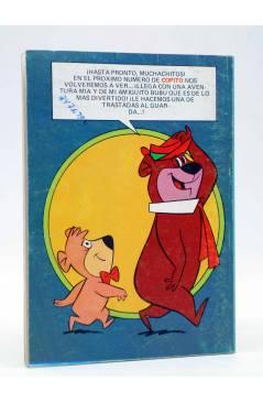 Contracubierta de COPITO. REVISTA JUVENIL AÑO II Nº 21. HUCKLEBERRY HOUND (Vvaa) Bruguera 1981