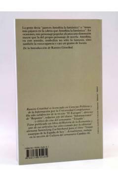 Contracubierta de BIBLIOTECA DE ESCRITORAS 7. ANTOÑITA LA FANTÁSTICA (Borita Casas) Castalia 1989