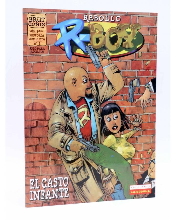 Cubierta de BRUT COMIX. R-BOY EL CASTO INFANTE (Rebollo) La Cúpula 1997