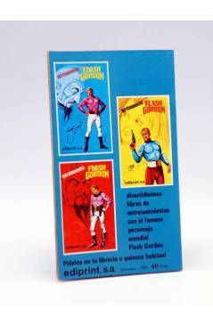 Contracubierta de FLASH GORDON ENTRETENIMIENTOS 2 (Capdevila / Alex Raymond) Ediprint 1981