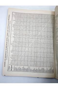 Muestra 4 de ESPAÑA. GUÍA DE CARRETERAS. ESCALA 1:750.000. La Unión y el Fénix Español 1949