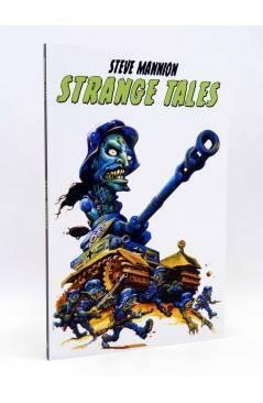 Cubierta de STRANGE TALES (Steve Mannion) Tyrannosaurus 2015
