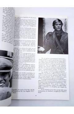 Muestra 5 de ROBERT REDFORD. INÉDITO. UN TÍPICO AMERICANO (H. Von Sohel) Producciones Editoriales 1977