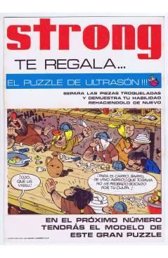 Cubierta de REVISTA STRONG. PUZZLE ULTRASÓN EL VIKINGO 2 (Remacle) Argos 1970