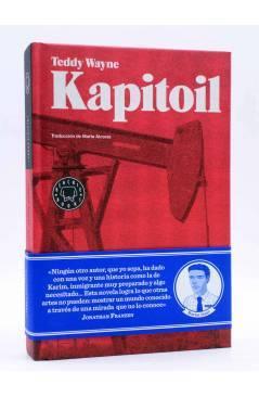 Cubierta de KAPITOIL (Teddy Wayne) Blackie Books 2011