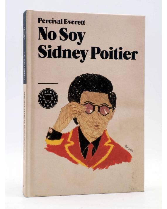 Cubierta de NO SOY SIDNEY POITIER (Percival Everett) Blackie Books 2012