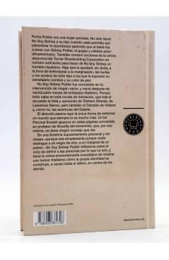 Contracubierta de NO SOY SIDNEY POITIER (Percival Everett) Blackie Books 2012