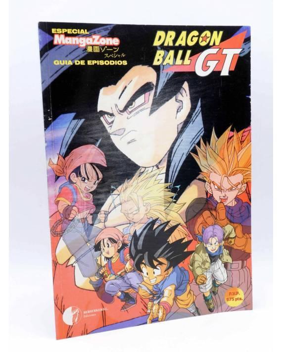 Cubierta de ESPECIAL MANGAZONE 1. DRAGON BALL GT GUÍA DE EPISODIOS VOL 1 (Vvaa) Berserker 1997