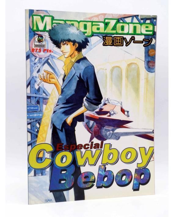 Cubierta de ESPECIAL MANGAZONE 10. COWBOY BEBOP. GUÍA DE EPISODIOS (Vvaa) Berserker 2000
