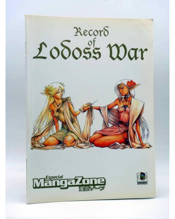 Cubierta de ESPECIAL MANGAZONE 14. RECORD OF LODOSS WAR (Vvaa) Berserker 2000