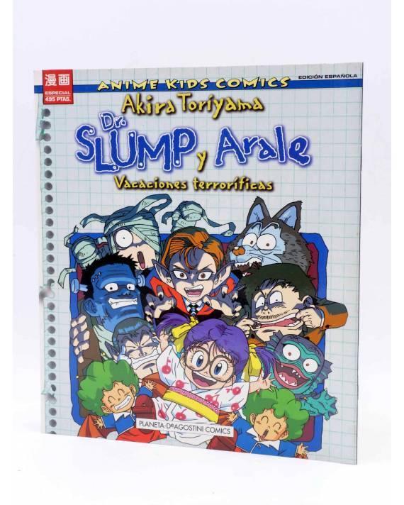 Cubierta de ANIMÉ KIDS COMICS ESPECIAL 1. DR. SLUMP Y ARALE: VACACIONES TERRORÍFICAS (Akira Toriyama) Planeta 1997