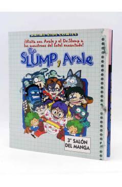 Contracubierta de ANIMÉ KIDS COMICS ESPECIAL 1. DR. SLUMP Y ARALE: VACACIONES TERRORÍFICAS (Akira Toriyama) Planeta 1997