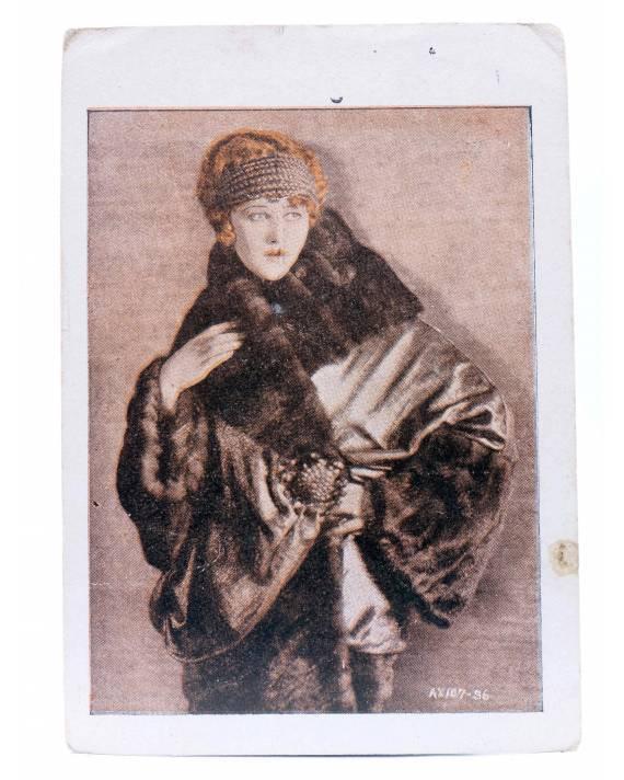 Cubierta de CROMO CINE. COLECCIÓN DE 19 ARTISTAS DE FAMA MUNDIAL 4ª Serie nº 4. ANNA Q. WILSON. Evaristo Juncosa Panella