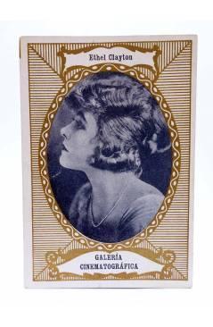 Cubierta de CROMO GALERÍA CINEMATOGRÁFICA Serie A nº 8. ETHEL CLAYTON. Chocolates Riucord Circa 1930