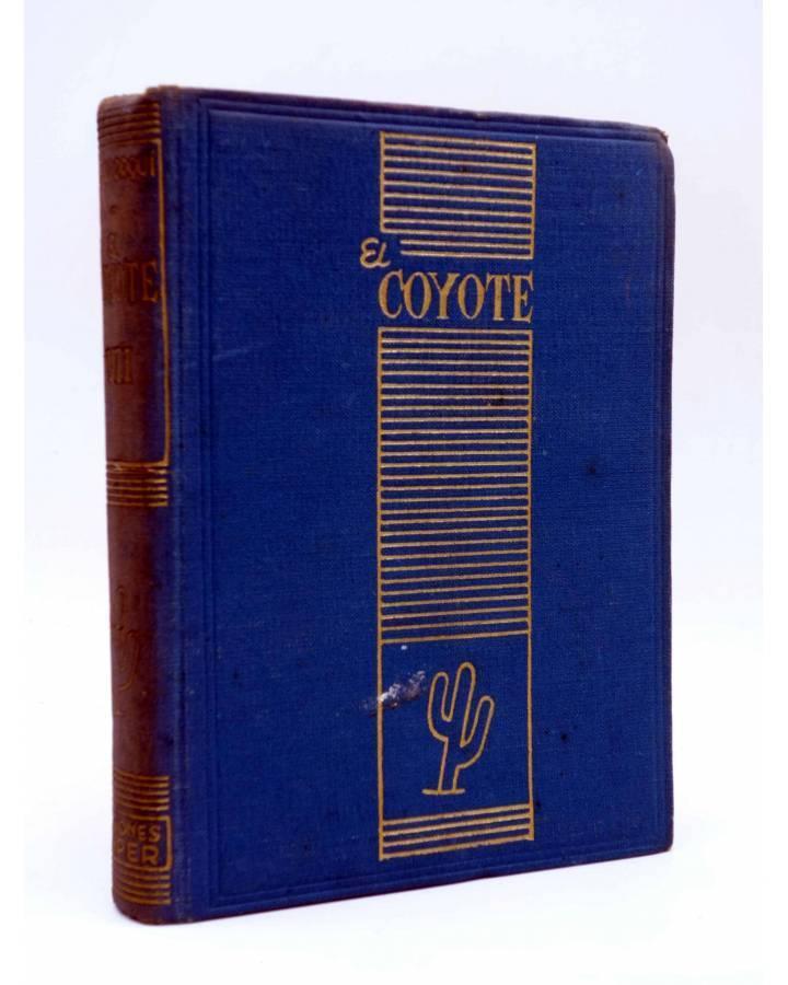 Cubierta de EL COYOTE TOMO VII. NºS 26 27 28 29 30 (J. Mallorquí) Cliper 1946