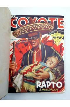 Muestra 1 de EL COYOTE TOMO VII. NºS 26 27 28 29 30 (J. Mallorquí) Cliper 1946