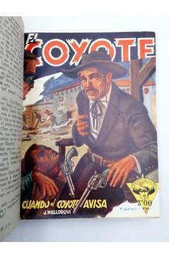 Muestra 2 de EL COYOTE TOMO VII. NºS 26 27 28 29 30 (J. Mallorquí) Cliper 1946