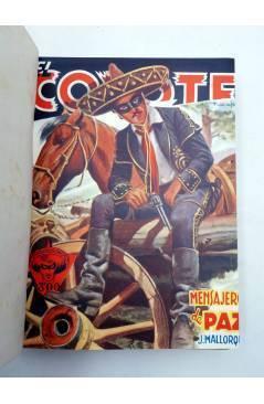 Muestra 1 de EL COYOTE TOMO VIII. NºS 31 32 33 34 35 (J. Mallorquí) Cliper 1946