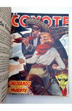 Muestra 2 de EL COYOTE TOMO VIII. NºS 31 32 33 34 35 (J. Mallorquí) Cliper 1946