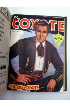 Muestra 4 de EL COYOTE TOMO VIII. NºS 31 32 33 34 35 (J. Mallorquí) Cliper 1946