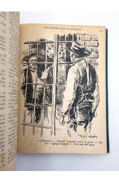 Muestra 6 de EL COYOTE TOMO VIII. NºS 31 32 33 34 35 (J. Mallorquí) Cliper 1946