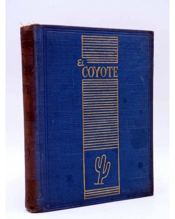 Cubierta de EL COYOTE TOMO XVI. NºS 66 67 68 69 70 (J. Mallorquí) Cliper 1948