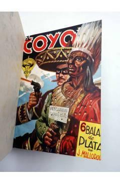Muestra 1 de EL COYOTE TOMO XVI. NºS 66 67 68 69 70 (J. Mallorquí) Cliper 1948