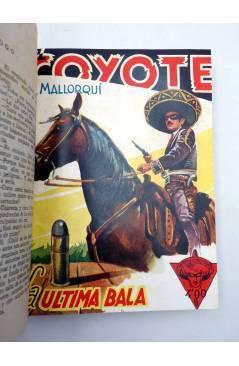 Muestra 2 de EL COYOTE TOMO XVI. NºS 66 67 68 69 70 (J. Mallorquí) Cliper 1948
