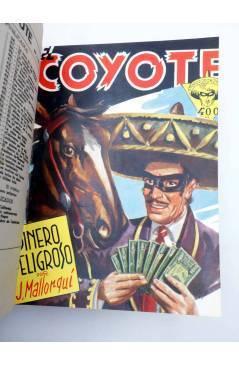 Muestra 3 de EL COYOTE TOMO XVI. NºS 66 67 68 69 70 (J. Mallorquí) Cliper 1948