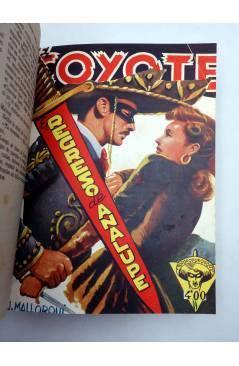 Muestra 4 de EL COYOTE TOMO XVI. NºS 66 67 68 69 70 (J. Mallorquí) Cliper 1948