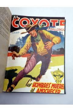 Muestra 5 de EL COYOTE TOMO XVI. NºS 66 67 68 69 70 (J. Mallorquí) Cliper 1948