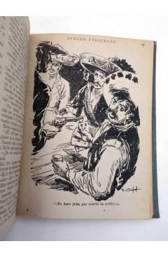 Muestra 6 de EL COYOTE TOMO XVI. NºS 66 67 68 69 70 (J. Mallorquí) Cliper 1948
