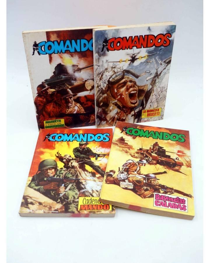 Cubierta de COMANDOS 1 2 3 4. COMPLETA (Vvaa) Valenciana 1981