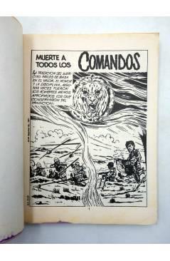 Muestra 6 de COMANDOS 1 2 3 4. COMPLETA (Vvaa) Valenciana 1981