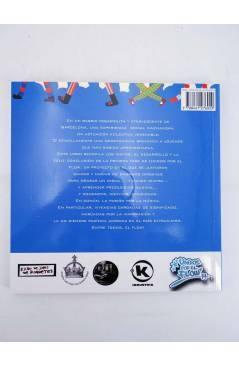 Contracubierta de UNIDOS POR EL FLOW. LATIN KINGS ÑETAS Y JÓVENES DE BARCELONA. LIBRO+CD+DVD (Aa.Vv.) Ven Y Te Lo Cuento