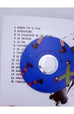 Muestra 2 de UNIDOS POR EL FLOW. LATIN KINGS ÑETAS Y JÓVENES DE BARCELONA. LIBRO+CD+DVD (Aa.Vv.) Ven Y Te Lo Cuento 2009