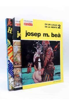 Contracubierta de PACK JOSEP M. BEÀ. UN LUGAR DE MI MENTE + HIPNOS MEDITERRANEO FOBIA. Intermagen 1985