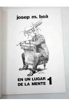 Muestra 1 de PACK JOSEP M. BEÀ. UN LUGAR DE MI MENTE + HIPNOS MEDITERRANEO FOBIA. Intermagen 1985