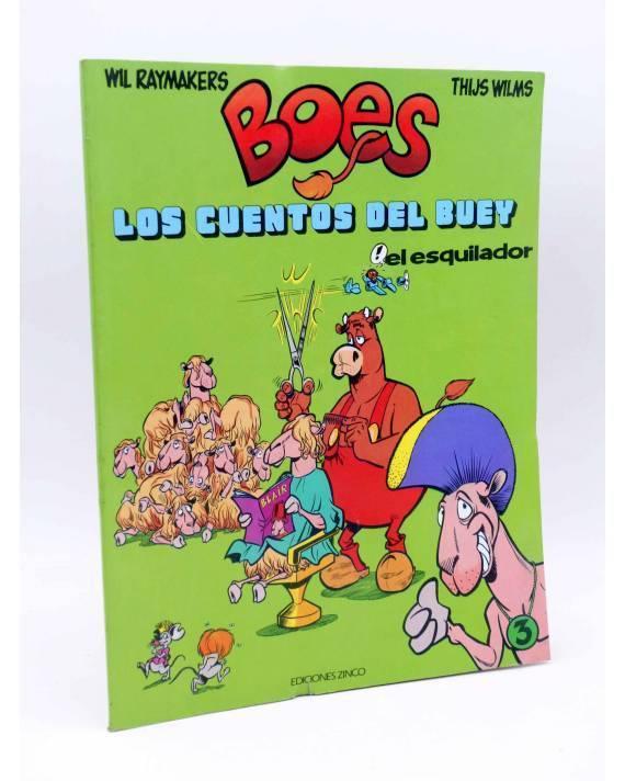 Cubierta de BOES. LOS CUENTOS DEL BUEY 3. Zinco 1990