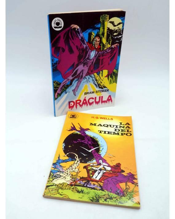 Cubierta de LIBROS GRÁFICOS 12. DRÁCULA Y LA MÁQUINA DEL TIEMPO (N.Redondo / A. Niño) Ediprint 1982