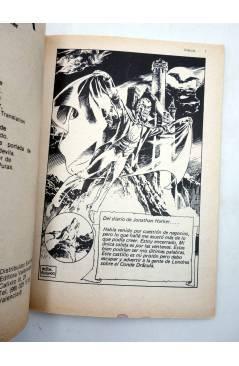 Muestra 1 de LIBROS GRÁFICOS 12. DRÁCULA Y LA MÁQUINA DEL TIEMPO (N.Redondo / A. Niño) Ediprint 1982
