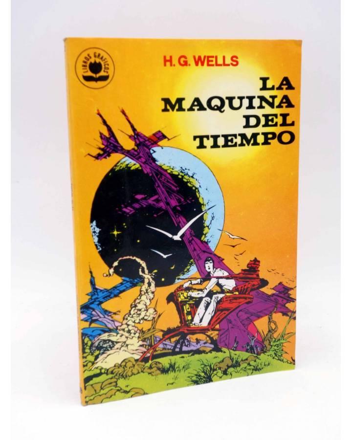 Cubierta de LIBROS GRÁFICOS 2. LA MÁQUINA DEL TIEMPO (N.Redondo / A. Niño) Ediprint 1982