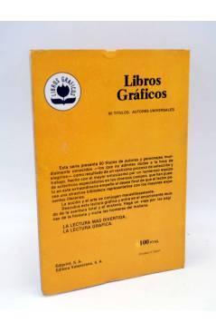Contracubierta de LIBROS GRÁFICOS 2. LA MÁQUINA DEL TIEMPO (N.Redondo / A. Niño) Ediprint 1982