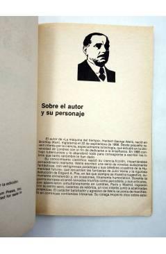 Muestra 1 de LIBROS GRÁFICOS 2. LA MÁQUINA DEL TIEMPO (N.Redondo / A. Niño) Ediprint 1982