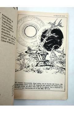 Muestra 2 de LIBROS GRÁFICOS 2. LA MÁQUINA DEL TIEMPO (N.Redondo / A. Niño) Ediprint 1982
