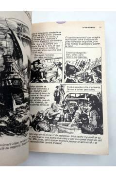Muestra 6 de LIBROS GRÁFICOS 1. LA ISLA DEL TESORO DRÁCULA LA MÁQUINA DEL TIEMPO (A. Niño) Ediprint 1982