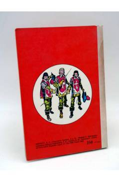 Contracubierta de LIBROS GRÁFICOS 2. TRES MOSQUETEROS FRANKENSTEIN S. HOLMES (Redondo / Niño) Ediprint 1982